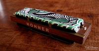 Fancy Hohner Harmonica