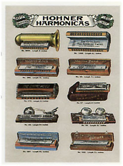 Kinds of Harmonicas